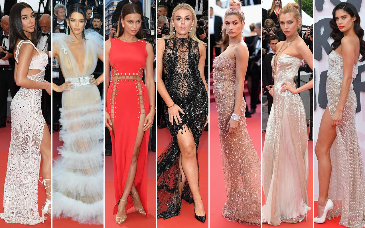 vestiti trasparenti delle star hot, moda 2018