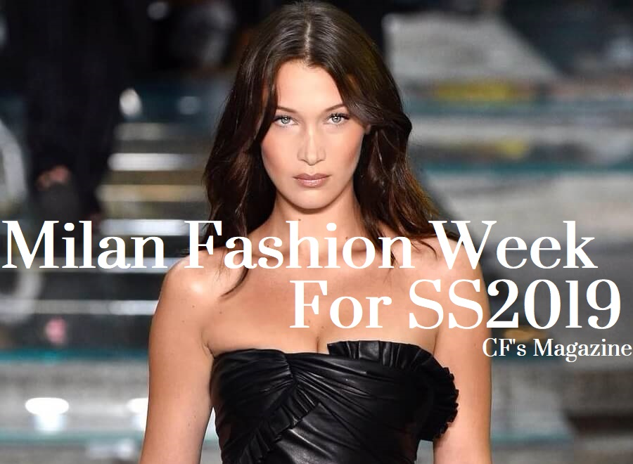 Milano Fashion Week, tendenze primavera estate 2019, bella hadid