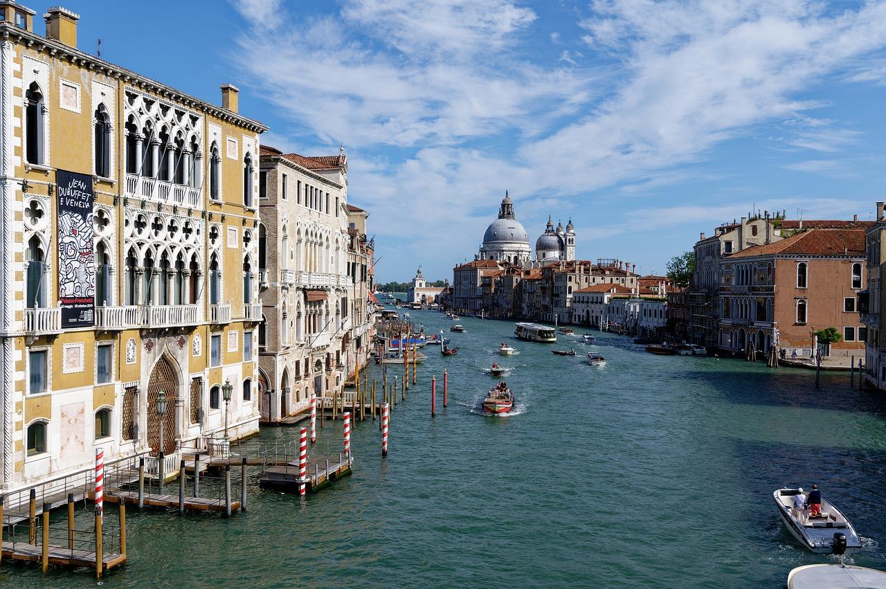 venezia, panorama, sfondo