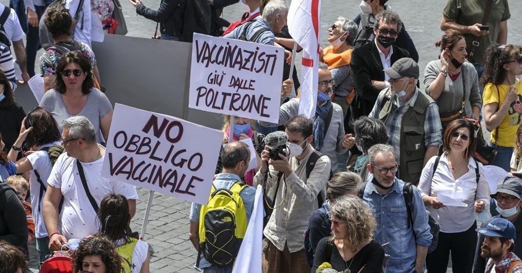 vaccin obbligation, demonstrations