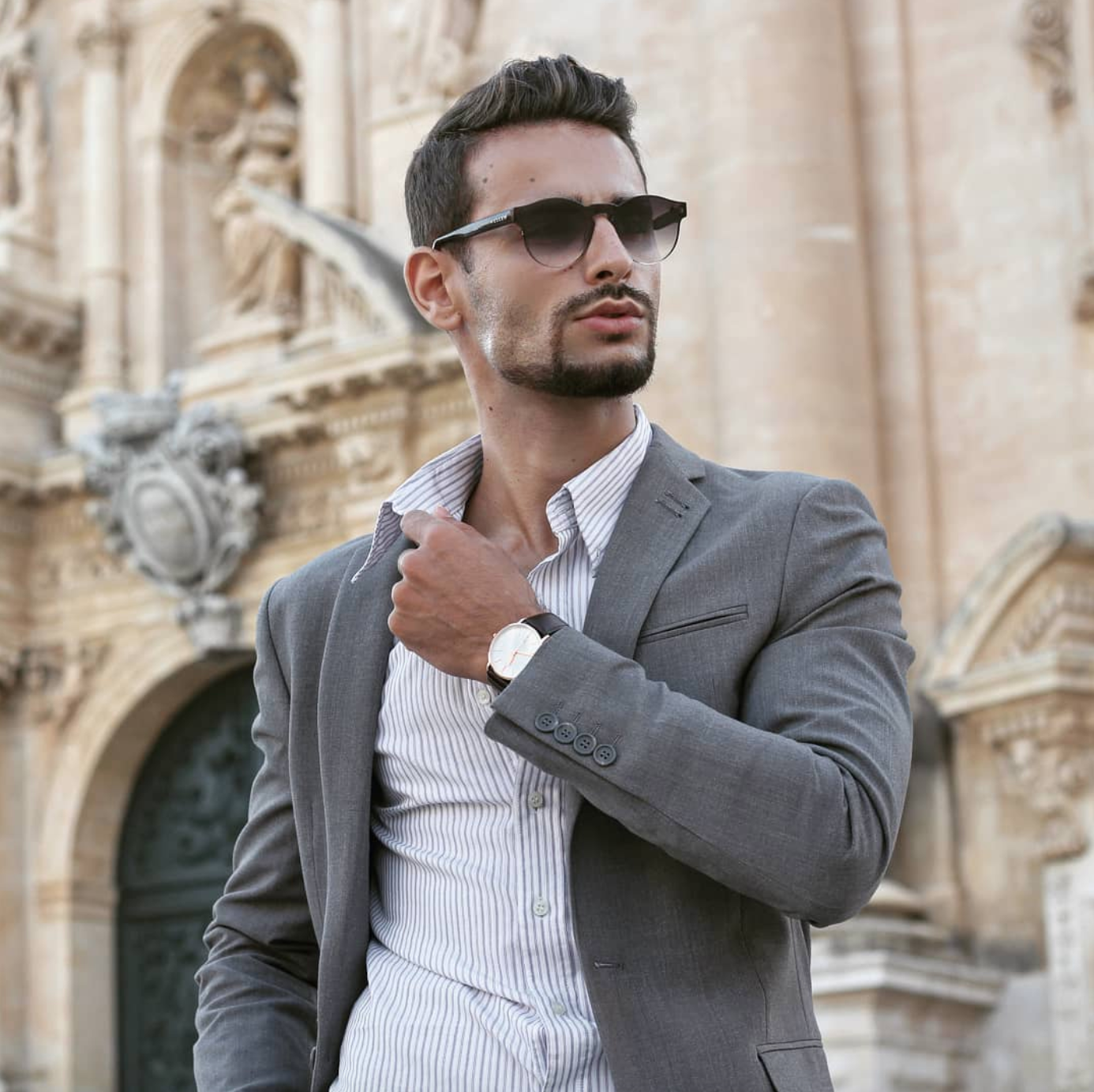 corrado firera, modelli italiani, influencer, fashion blogger